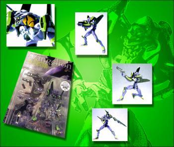 Neon genesis evangelion EVA unit 01 Purple figure