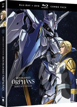 Mobile Suit Gundam Iron-Blooded Orphans Season 02 Part 02 Blu-Ray/DVD
