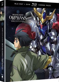 Mobile Suit Gundam Iron-Blooded Orphans Season 02 Part 01 Blu-Ray/DVD