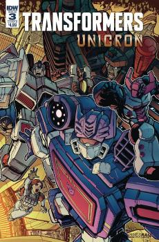 TRANSFORMERS UNICRON #3 (OF 6) CVR B RAIZ