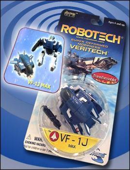 Robotech Super deformed morphers VF-1J Max