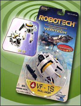 Robotech Super deformed morphers VF-1S Skull leader