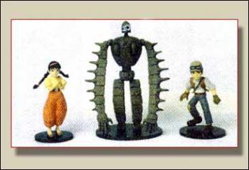 Laputa figure set
