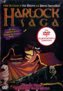 Harlock saga vol 1 DVD