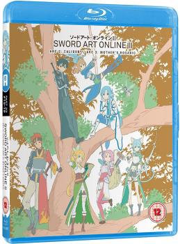 Sword art online 2 Part 03 Blu-Ray UK