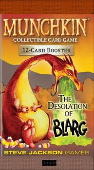 Munchkin Collectible Card Game The Desolation of Blarg Booster Pack