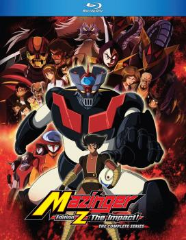 Mazinger Edition Z The Impact Complete Series Blu-Ray