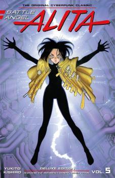 Battle Angel Alita Deluxe Edition vol 05 GN Manga