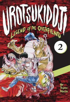 Urotsukidoji Legend of the overfiend vol 02 GN Hentai Manga