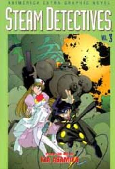 Steam detectives vol 3 TP