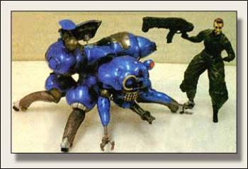 Ghost in the shell Resin statue Fuchikoma Blue PX