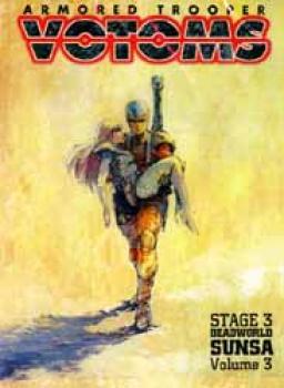Votoms Stage 3 Deadworld Sunsa vol 3 DVD