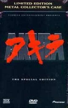 Akira Deluxe DVD Limited edition tin version