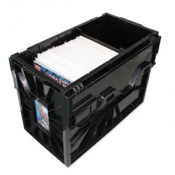 BCW Short Comic Book Bin (Stackable Plastic Box)