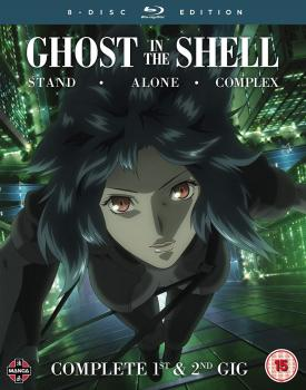 Ghost in the Shell Stand Alone Complex 1st & 2nd GIG Complete Series Blu-ray UK