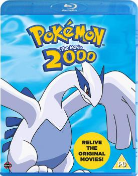 Pokemon The Movie 2000 Blu-Ray UK