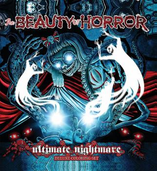 BEAUTY OF HORROR ULTIMATE NIGHTMARE DELUXE COLORING SET