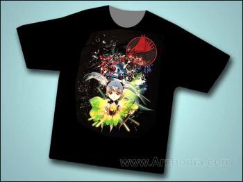 Martian successor Nadesico Prayer for Ruri T-shirt XL