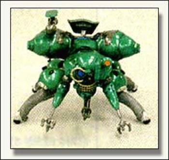 Ghost in the shell Resin statue Fuchikoma Green
