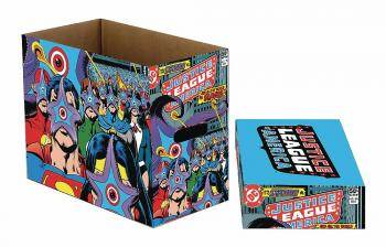 DC COMICS STARRO STRIKES SHORT COMIC STORAGE BOX (BUNDLE OF 5)