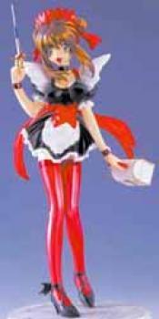 Amazing nurse Nanako Resin statue Red repaint