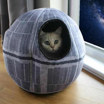 STAR WARS PET CAVE DEATH STAR