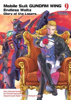 Gundam Wing vol 09 The Glory of Losers GN Manga
