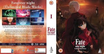 Fate Stay Night Unlimited Bladeworks Part 01 Blu-Ray UK