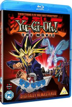 Yu-Gi-Oh! The Movie Blu-Ray UK