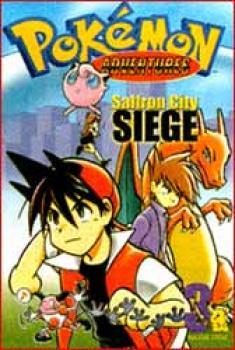 Pokemon Adventures vol 3 Saffron city seige TP