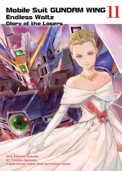 Gundam Wing vol 11 Glory of The Losers GN Manga