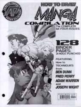 How to draw manga looseleaf pages