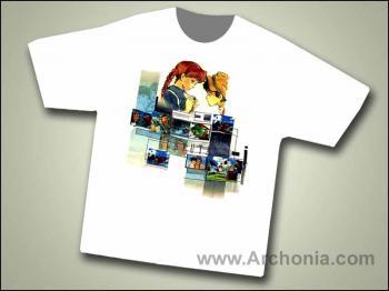 Laputa Windows of adventure T-shirt Large