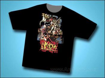 Ninja scroll Collage T-shirt X-Large