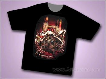 Shirow Ghost in the shell II T-shirt Large