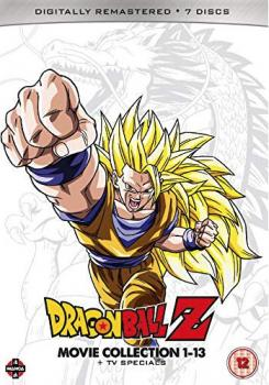 Dragon Ball Z Movie Complete Collection Movies 1-13 + TV Specials DVD UK