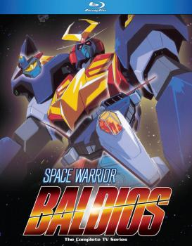 Space Warrior Baldios Blu-Ray