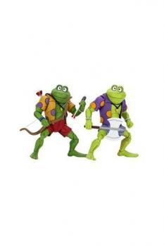 Teenage Mutant Ninja Turtles Action Figure - 2-Pack Genghis & Rasputin Frog