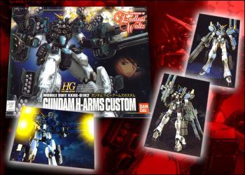 Gundam Wing Heavy Arms custom 1/144 model kit