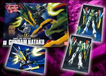 Gundam Wing Gundam Nataku  1/144 model kit