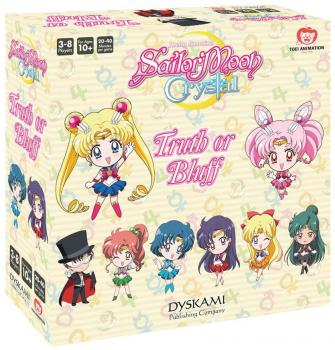 Sailor Moon Crystal Truth or Bluff Party Game