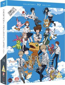Digimon Adventure Tri Complete Movie Collection Blu-Ray UK