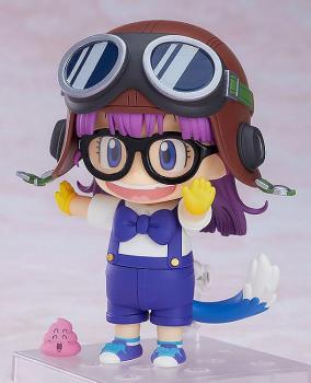 Dr. Slump PVC Figure - Nendoroid Arale Norimaki Cat Ears Ver. & Gatchan