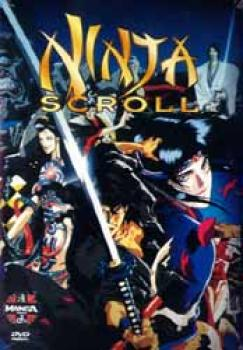 Ninja scroll DVD PAL