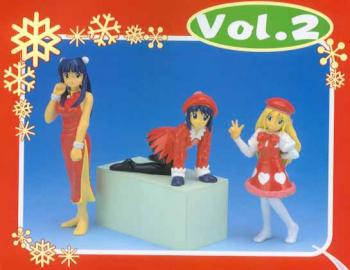 Love Hina Figure Christmas version 2 Maehara Shinobu