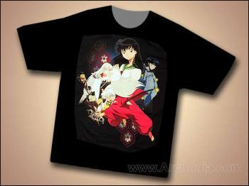 Inu Yasha Journey back T-shirt XL