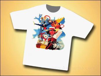Nadia secret of bluewater T-shirt L