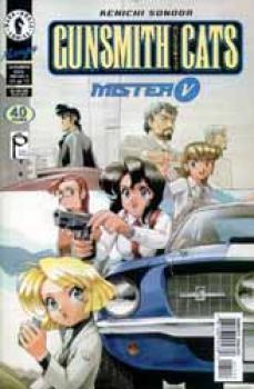 Gunsmith cats Part 8 Mister V 11