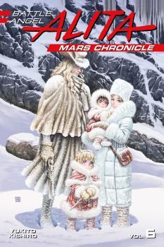 Battle Angel Alita Mars Chronicle vol 06 GN Manga