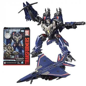 Transformers Action Figure - Voyager Class Thundercracker - Toys R Us Exclusive (Damaged Packaging)